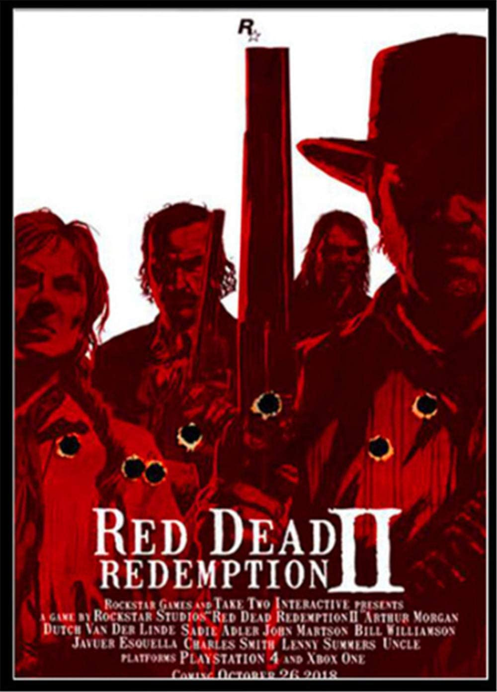 Tapices Red Dead Redemption 2 Juego Tapiz Hippie Popular Colgar En ...