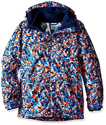 Columbia Boys Bugaboo Interchange Jacket, X-Large, Super Blue Print