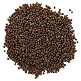Frontier Natural Products, Organic Whole Brown Mustard Seed, 16 oz (453 g) - 2PC