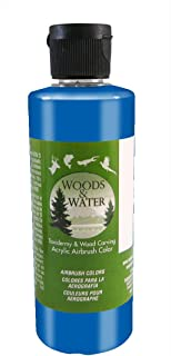 product image for Badger Air-Brush Co. 16-Ounce Woods and Water Airbrush Ready Water Based Acrylic Paint, Candy Blue