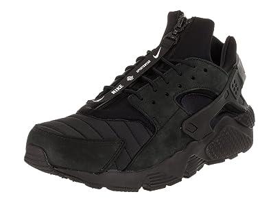 3103a5bca3526 NIKE Air Huarache Run City NYC Mens Fashion-Sneakers AJ5578-001 8 - Black