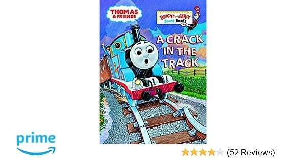 d25c678cb9c Amazon.com: A Crack in the Track (Thomas & Friends) (9780375827556): Rev.  W. Awdry: Books