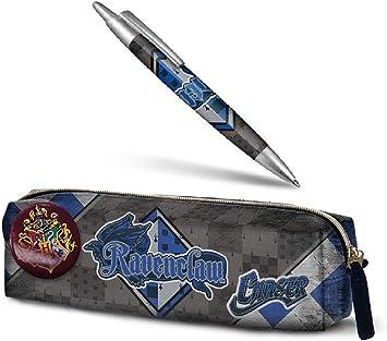 Aucun Estuche de lápices de Harry Potter - Ravenclaw + Pluma de Harry Potter - Ravenclaw 14 cm: Amazon.es: Juguetes y juegos