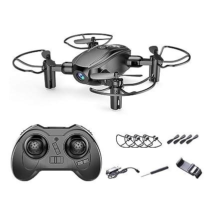 DonLucancy Mini Drone Plegable Teledirigido WiFi Portátil con ...