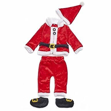 Amazon.com: L-Silk OMAMA - Disfraz de Papá Noel para bebé ...