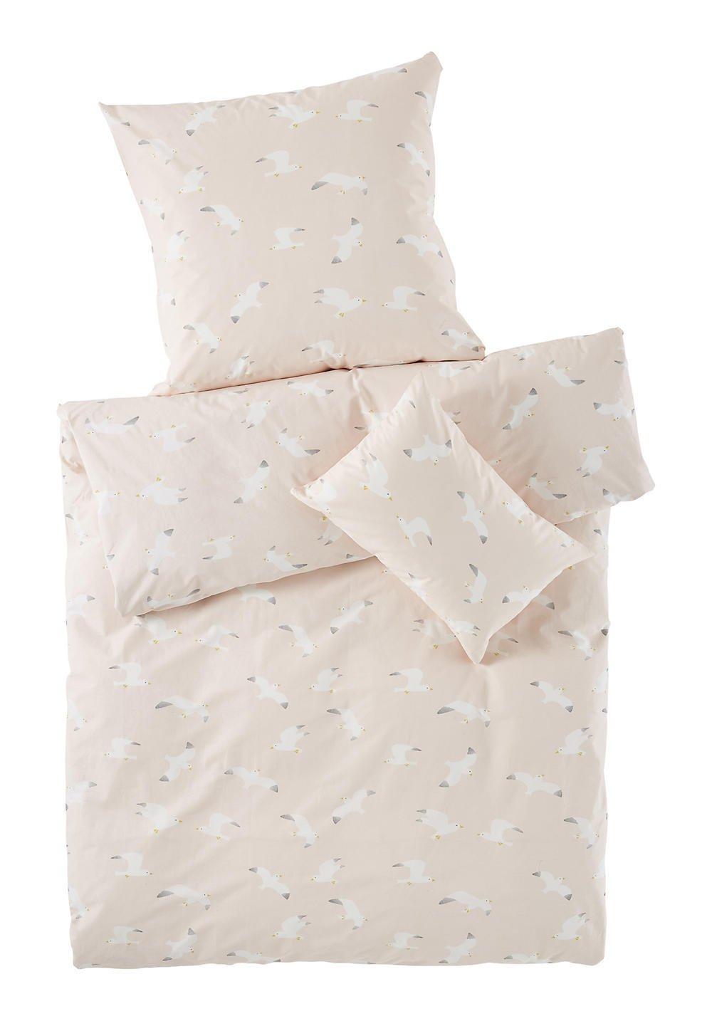 hessnatur Baby Mädchen Renforce Bettwäsche aus Reiner Bio-Baumwolle Bedruckt 100x135+40x60 cm