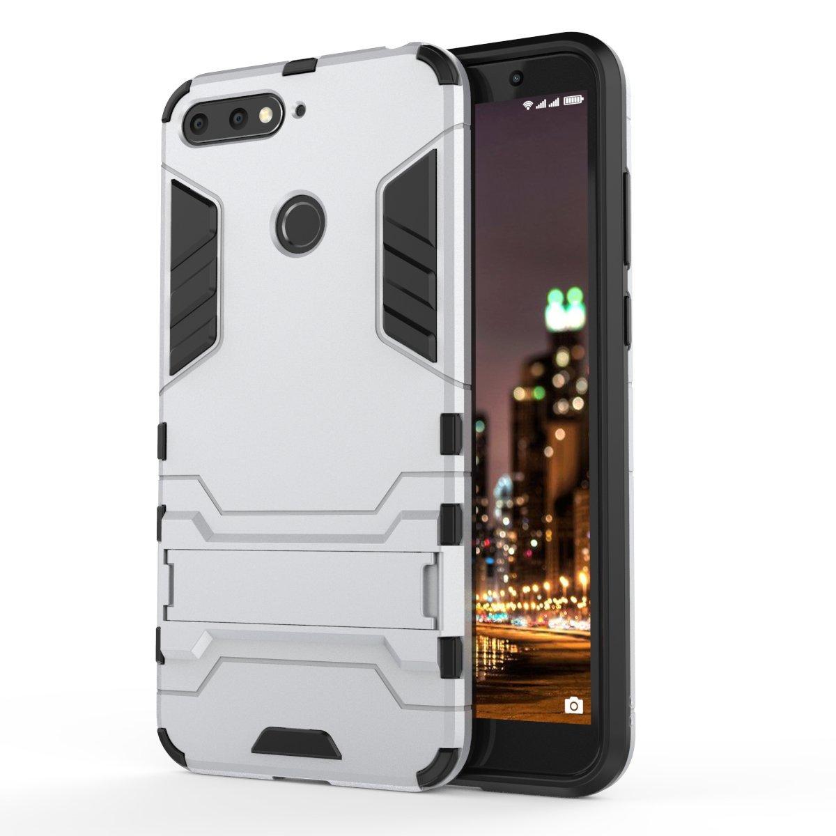 the best attitude 4ec89 02ccb Huawei Y6 2018 Case,TenYll TPU&PC Hybrid Armor Case: Amazon.co.uk ...