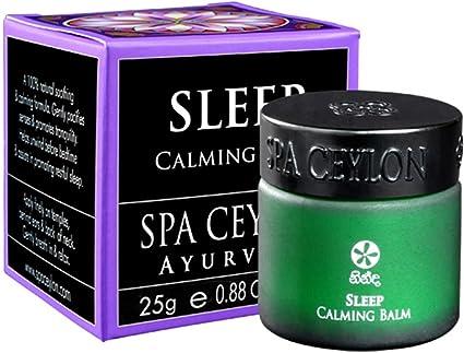 Amazon Com Spa Ceylon Luxury Ayurveda Sleep Calming Balm With