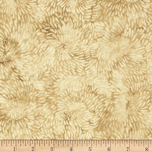 Mocha Spiral - Timeless Treasures Tranquility Raindrop Spiral Mocha Fabric By The Yard