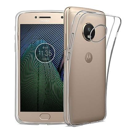 Electrónica Rey Funda Carcasa Gel Transparente para Motorola ...