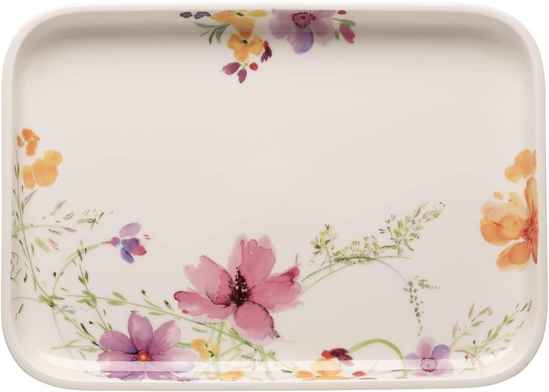 Premium Porzellan Wei/ß//Bunt 24 cm Villeroy /& Boch Mariefleur Basic Backform