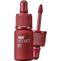 Peripera Ink the Velvet Lip Tint   High Pigment Color, Longwear, Weightless, Not Animal Tested, Gluten-Free, Paraben-Free   Good Brick (#01), 0.14 fl oz
