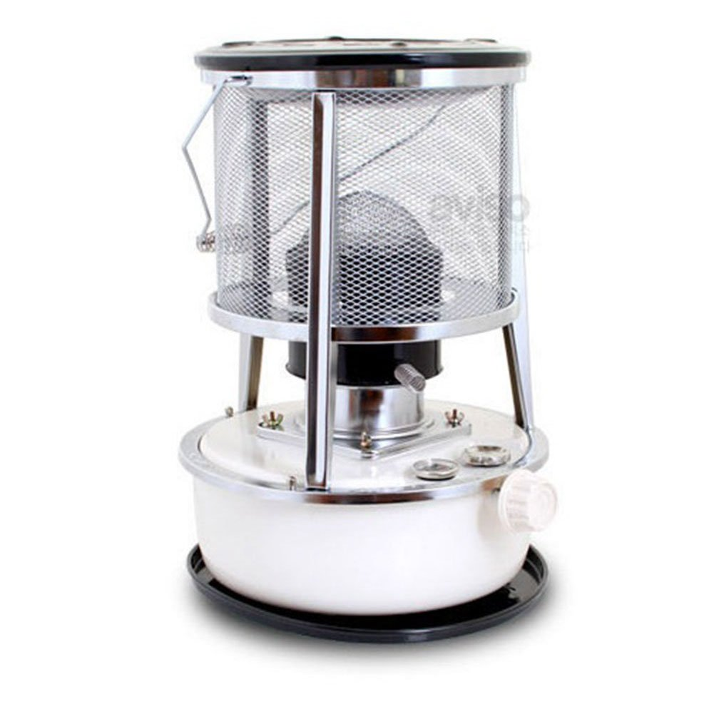 Alpaca TS-231 Kerosene Oil Heater Triple Tank Glass Burner For Camping & TS-232 exclusive Bag(Color could be changed)+ Free gift(Gas Lighter+ Extra Wick)