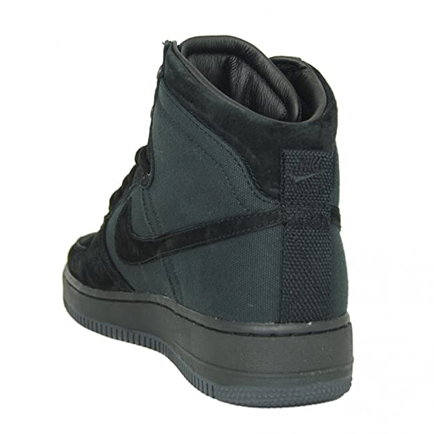 100% authentic e839e f6358 Nike Air Force 1 Hi DCN Military Boot in Black 11uk: Amazon.co.uk: Shoes &  Bags