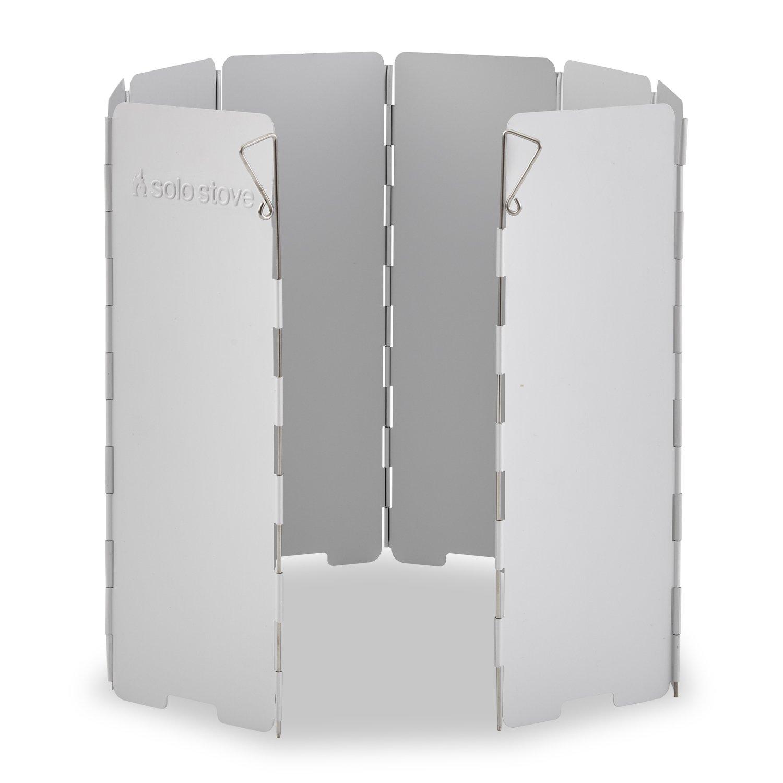 Solo Stove Aluminium Windschutz: Zur Verwendung Backpacking Öfen, Campingkochern, Butan-Gaskochern, Spirituskochern X8WND