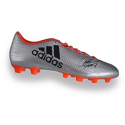 2061efa89a7 Luis Suarez Signed Soccer Shoe