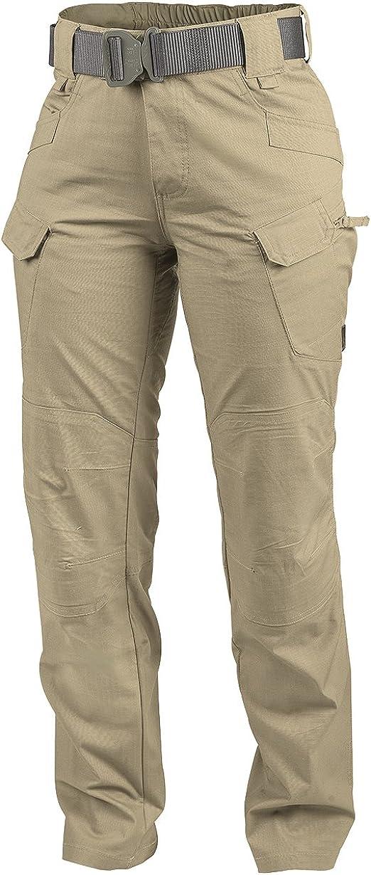 Black PolyCotton Ripstop Helikon-Tex Womens UTP Urban Tactical Pants
