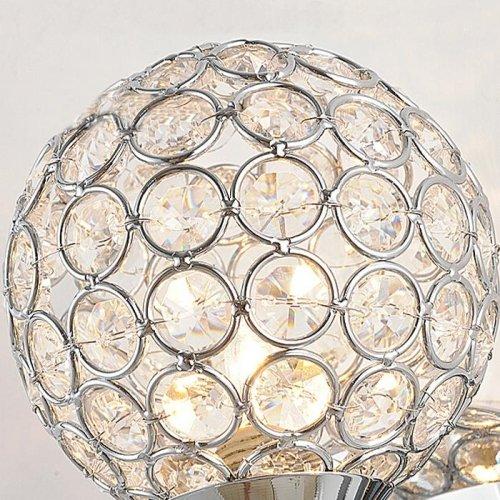 E12 E14 Modern Luxury Crystal Bathroom wall Sconce Lighting Metal Fixture by Liinmall (Image #2)