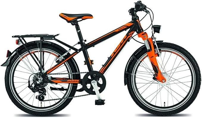 KTM Wild One 20, bicicleta infantil, 2015, negro mate naranja RH ...