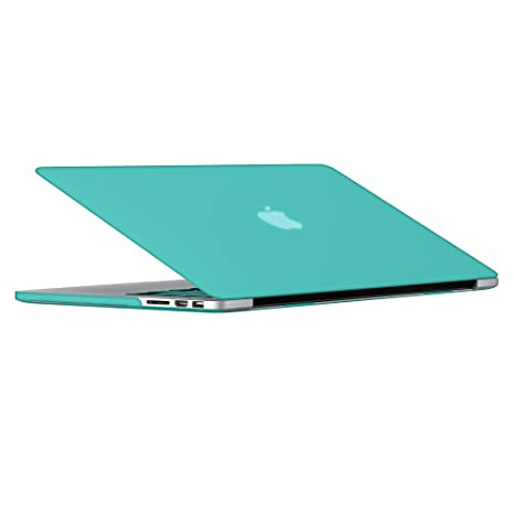 SlickBlue rubberized caso duro de la cubierta para Apple MacBook Pro de 13,3 pulgadas
