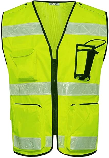 Fsaqbx Fs Reflective Vest Oxford Cloth Reflective Clothing Night Road Traffic Site Construction Protective Clothing Multi Size Selection Size L Amazon Co Uk Kitchen Home