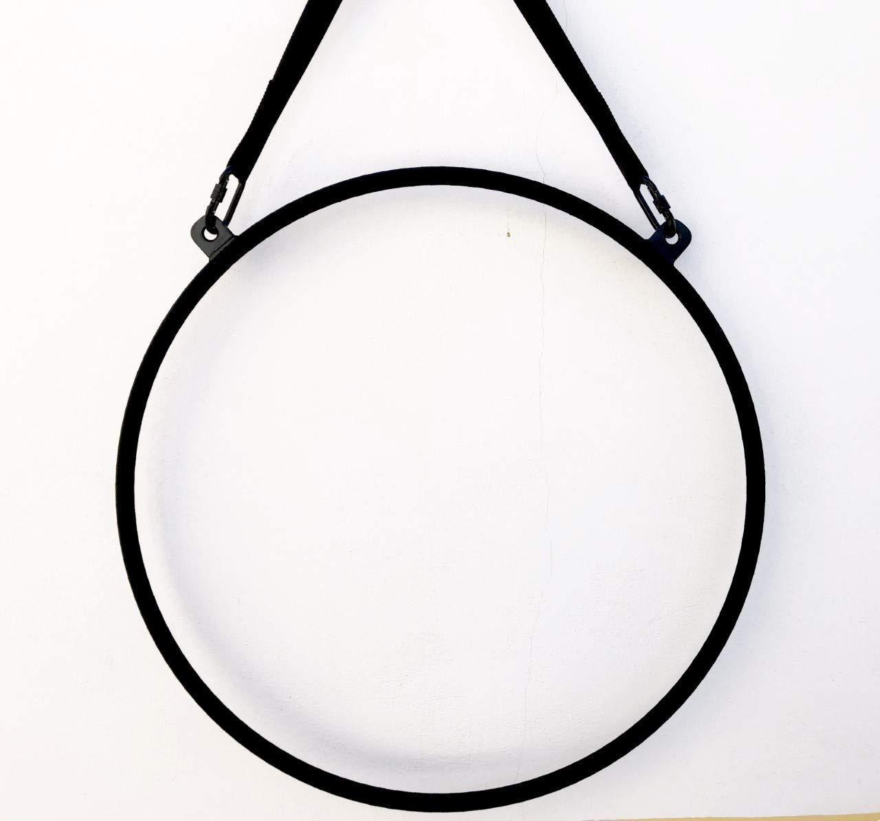 Aro aéreo acrobático,lira para hacer acrobacias aéreas como en telas de yoga,pilates,para acróbatas de circo,lyra,trapecios,etc...: Amazon.es: Handmade