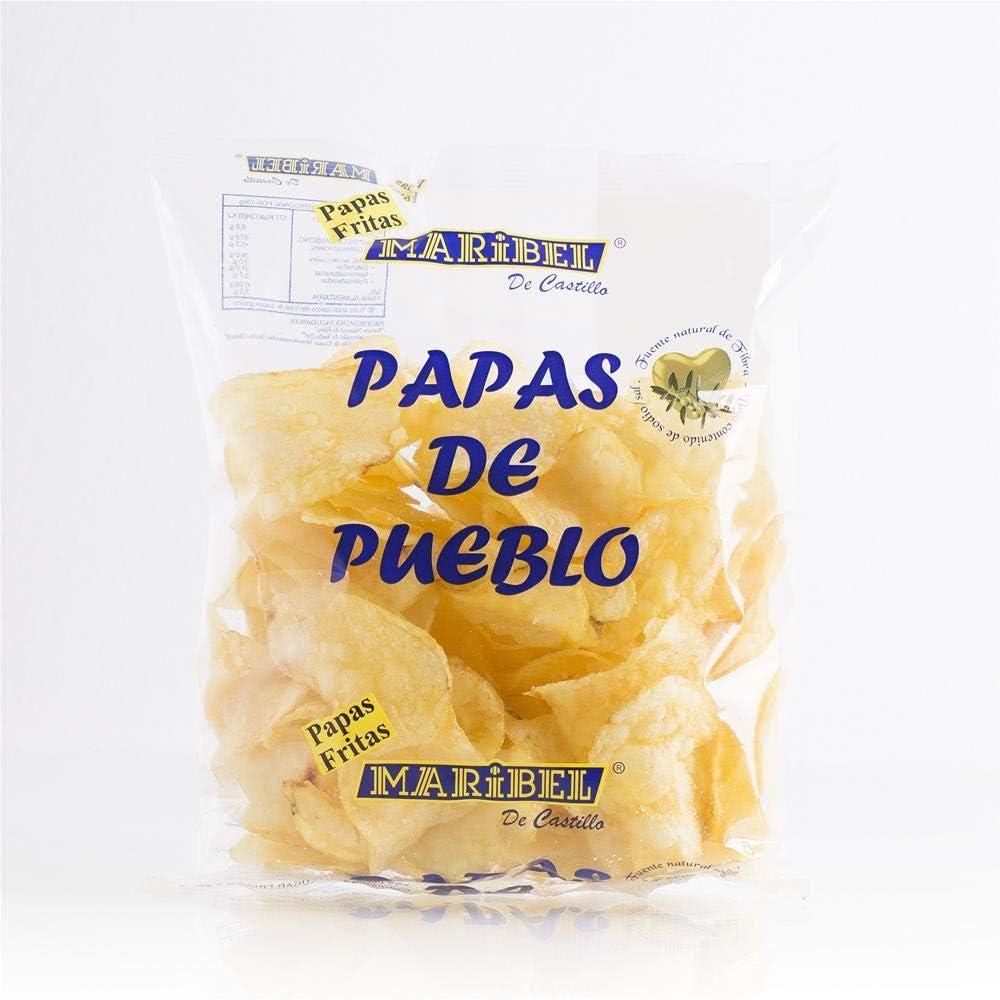 Papas fritas 190 gr. x 12 unidades, con aceite de girasol, sin ...