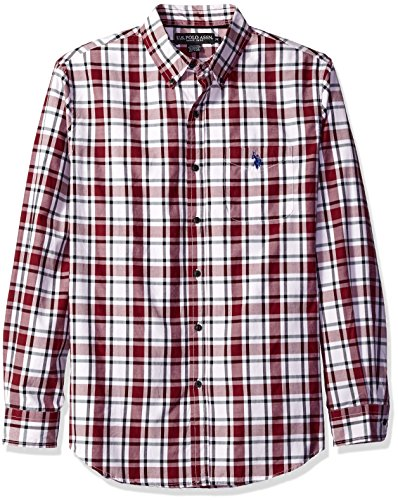 us-polo-assn-mens-long-sleeve-medium-box-plaid-sport-shirt-seagrams-burgundy-m