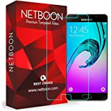 Samsung Galaxy A9 Pro (2016 )Tempered Glass Screen Protector - NETBOON® Original Tempered Glass HD Clarity Premium Quality Screen Protector, 9H Hardness, Ultra thin, Anti-Scratch Branded Screen Protector Gorilla Glass Guard for Samsung Galaxy A9 Pro (2016) SM-A9100
