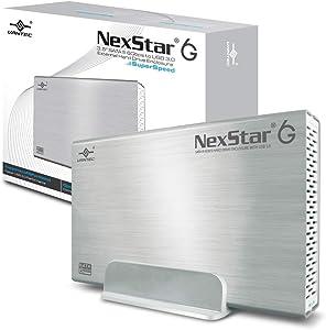 Vantec 3.5-Inch SATA 6Gb/s to USB 3.0 HDD Enclosure, Silver (NST-366S3-SV)