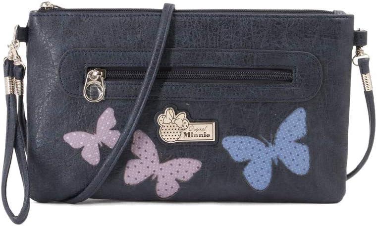 Karactermania Minnie Mouse Blufy-bolso Satchel Cadena Sac bandouli/ère Blufy Bleu 20 cm