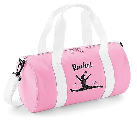 Personalized Girls Toddler Duffle Bag Gymnastic Gymnast Dance