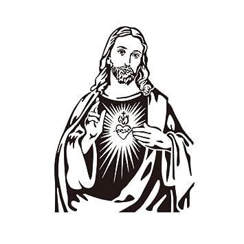 Wandaufkleber Kopf Statue Christus Jesus Gott Glauben Living Room  Schlafzimmer Die Mauer Dekoration Selbstklebend I