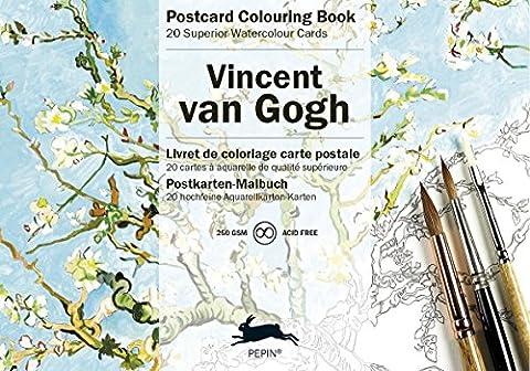 Van Gogh (Postcard Colouring
