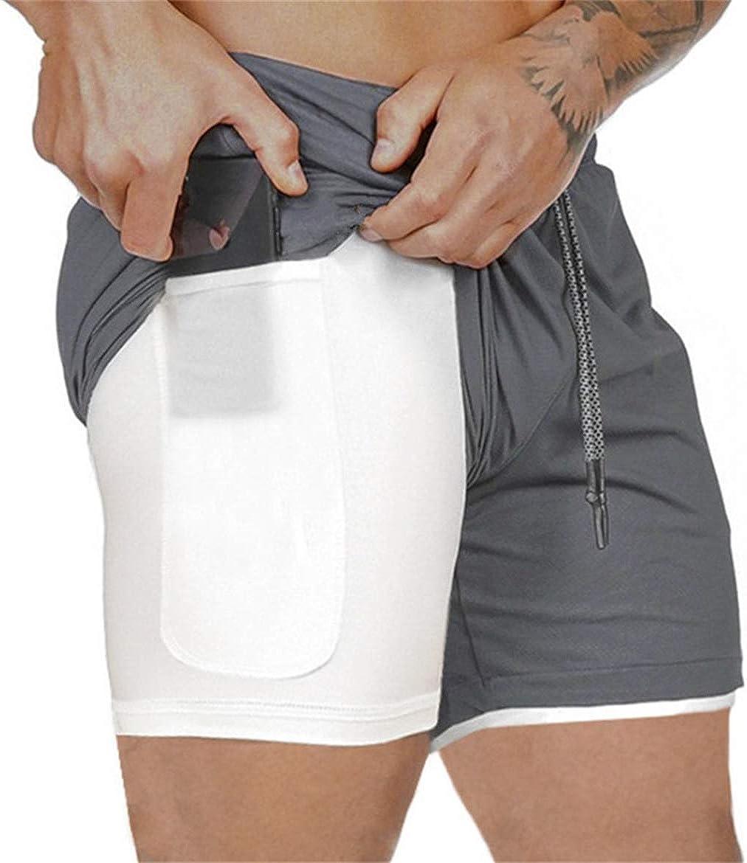 Cooden Deporte Pantalones Cortos para Hombre e Fitness Bodybuilding Pantalones de Tenis con Cord/ón