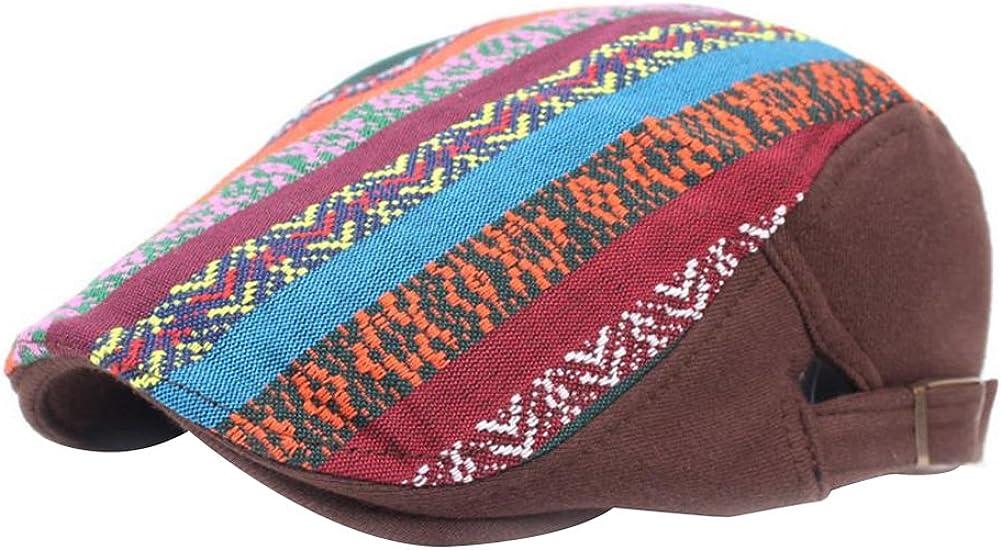 Leisial/™ Invierno Boina Caliente Retro Gorro de Algd/ón Viento Nacional de Mujeres Invierno Sombrero de Viaje Primavera Oto/ño