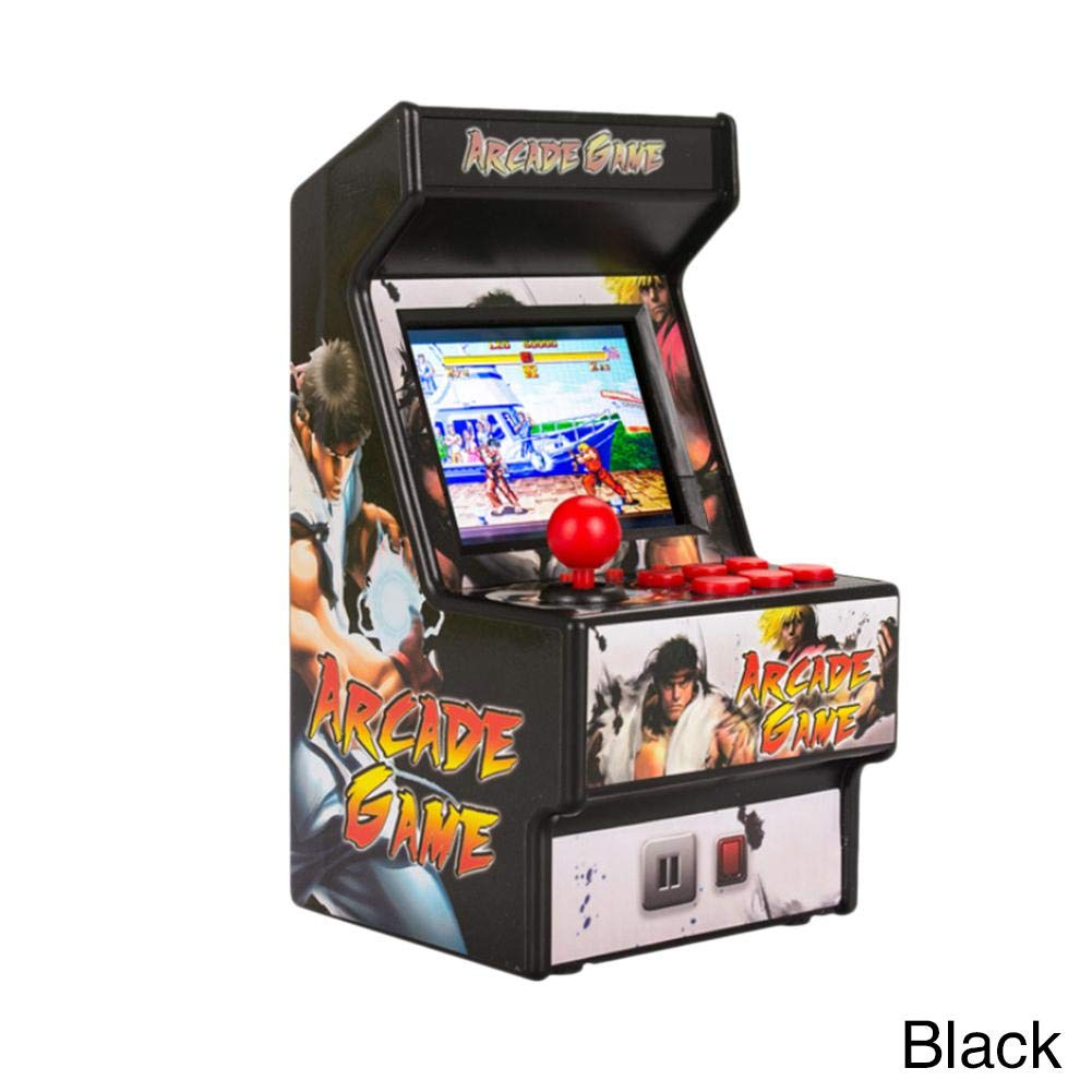 Yunn 2.5' TFT Mini Handheld Arcade Game Retro Machines for Kids with 156 Built-in Games,16 Bit Console New Street Fighter Home Arcade by Yunn (Image #1)
