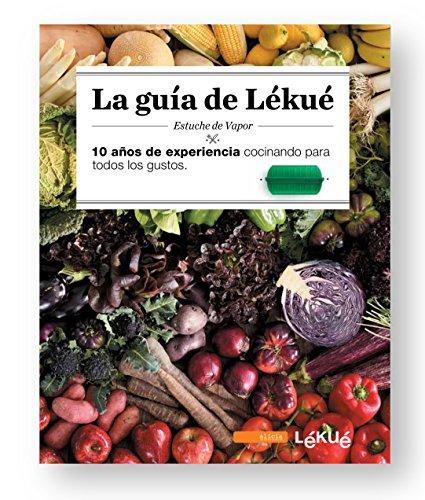 Lékué - Kit Estuche de vapor 1,2 personas + libro de recetas, 600 ml, Silicona
