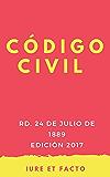 Código Civil : España, 2017 (con índice)