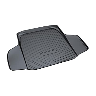 Vesul Rear Trunk Cargo Cover Boot Liner Tray Carpet Floor Mat Compatible with Honda Accord Sedan 2020 2020 2020: Automotive