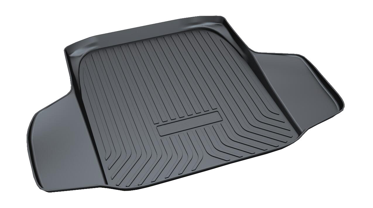 Vesul Rear Trunk Cargo Cover Boot Liner Tray Carpet Floor Mat Compatible with Honda Accord Sedan 2018 2019