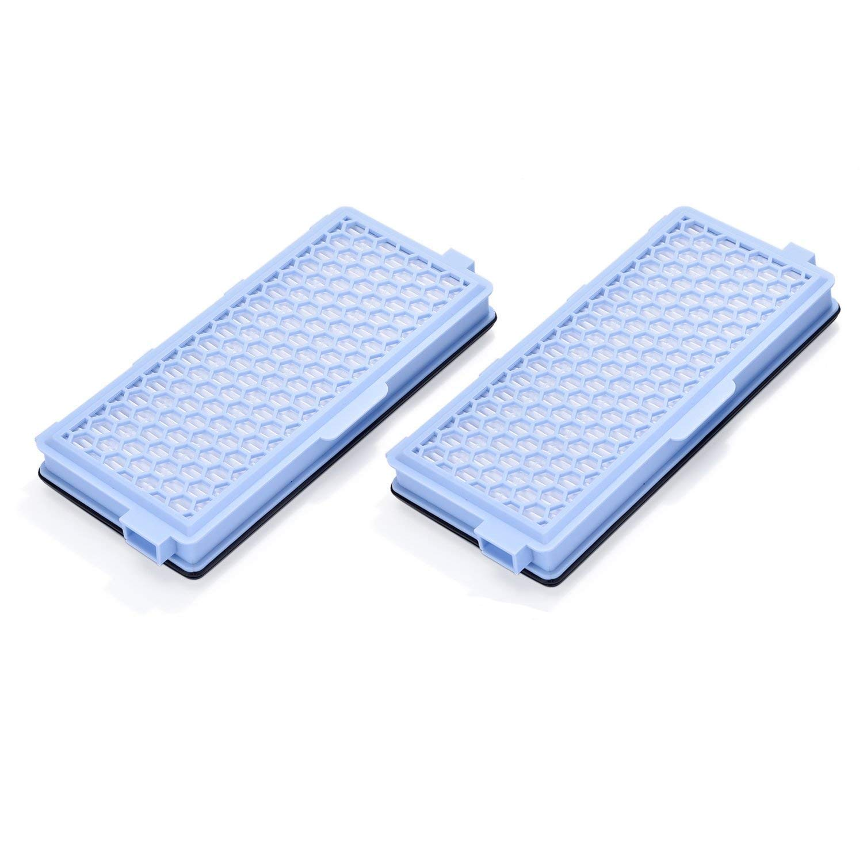 Smartide HEPA-Filter aktiv Luftfilter-Staubsauger SF-HA 50 AirClean für Miele S4 S5 S6 S8 und S4000 S5000 S6000 S8000 (2-Pack) Leadaybetter .