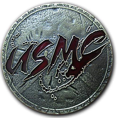 - Vision Strike Coins Spartan 300 Parody Shield USMC Coin
