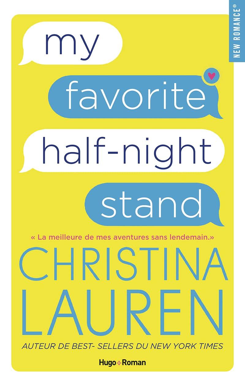 My favorite half-night stand de Christina Lauren 61ZU5wP42-S