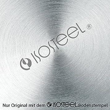 Argent Isosteel 2063828 Pichet Isotherme Tableline 1,0l Acier Inoxydable INOX