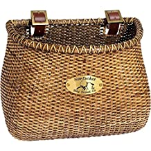 Nantucket Bike Basket Co Adult Classic Lightship Collection Stained Bicycle Basket
