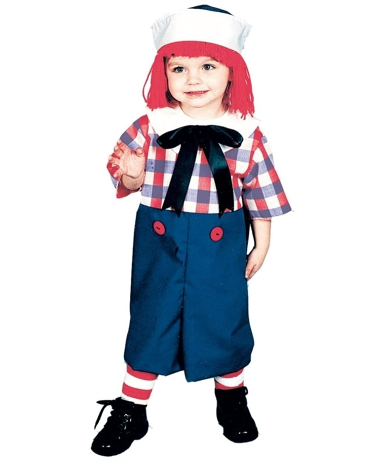 Raggedy Andy Boy's Costume