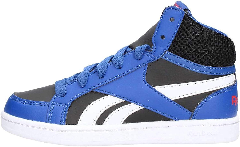 Reebok Royal Prime Mid Sneaker Basket Garçons Chaussures Sneaker Gris 35