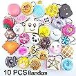 Techcell Flatback Random Kawaii Mini Squishy Bag, Pack of 10
