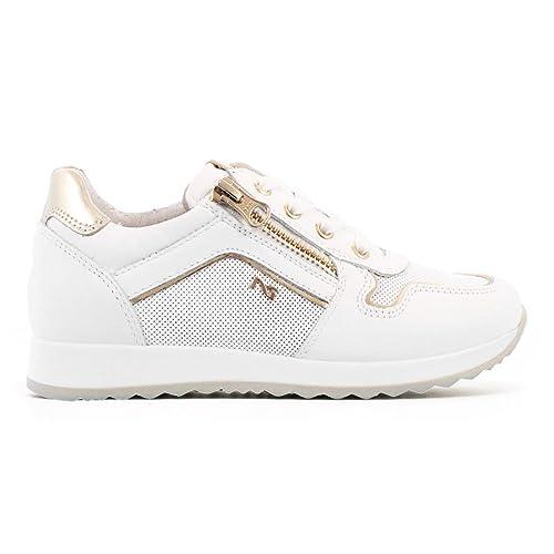 Nero Giardini Junior Sneakers Bianche o Beige P830020F Scarpe Primavera  Estate 2018  Amazon.it  Scarpe e borse 95f8ef78e3a